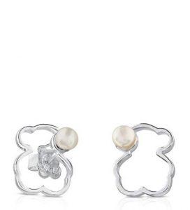 978167babe32 Pendientes de botón Mujer plata - 713563510